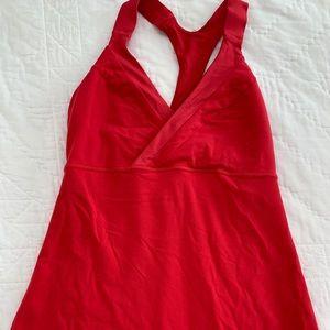 Lululemon Red Top